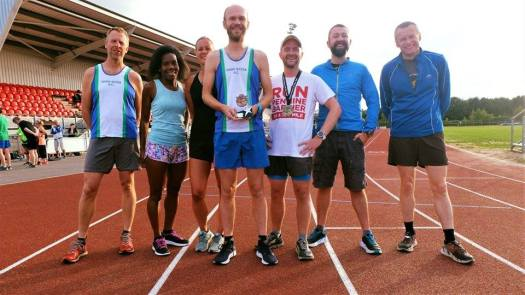 Doncaster AC wins first prize in the Pennine Barrier Ultra 2018 team event.